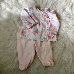 First Impressions Baby 0-3 M Outfit Shirt & Pant